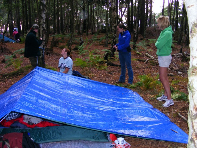 Our Tent!
